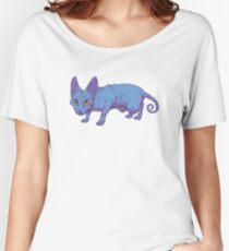 blue sphynx Women's Relaxed Fit T-Shirt