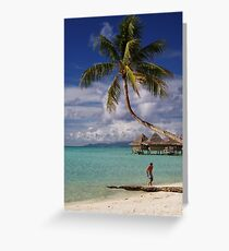 """ South Pacific "" Greeting Card"