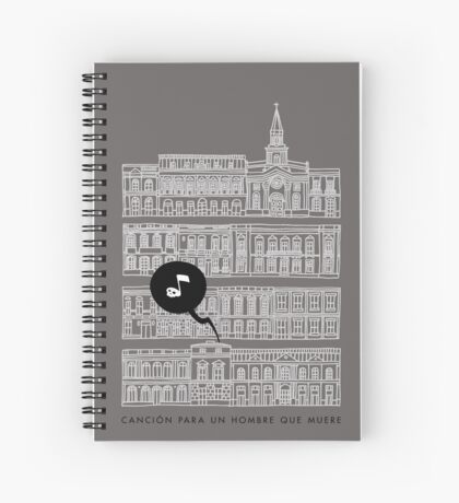 Song for a dying man T-Shirt Spiral Notebook