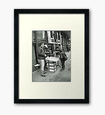 A candid Framed Print