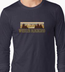 Whistler Blackcomb ski resort truck stop tee  Long Sleeve T-Shirt