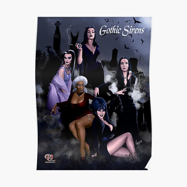 Gothic Sirens Poster