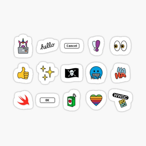 WWDC 2020 Stickerset Sticker