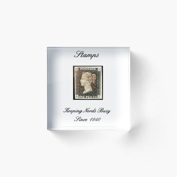 Stamp Nerds Since 1840 Acrylic Block