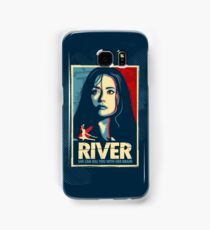 She Can Kill You With Her Brain Samsung Galaxy Case/Skin
