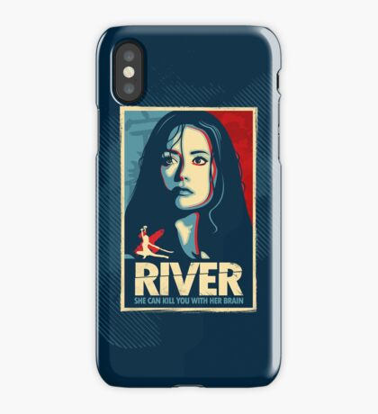 She Can Kill You With Her Brain iPhone Case/Skin
