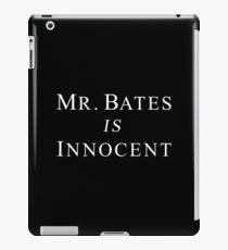 Mr.Bates is Innocent iPad Case/Skin