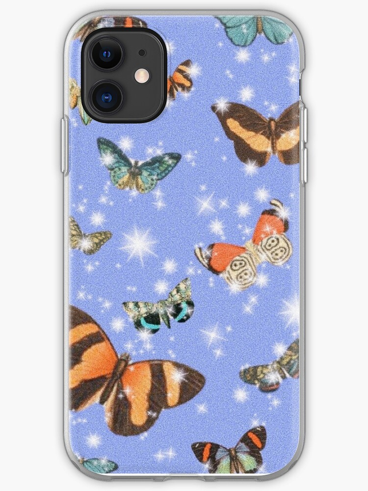 Aesthetic Butterfly Wallpaper Phone Case Iphone Case Cover By Charlottetsui Redbubble