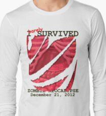 Zombie Apocalypse 2012 survivor T-Shirt