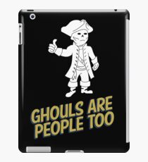 Ghouls are People Too iPad Case/Skin