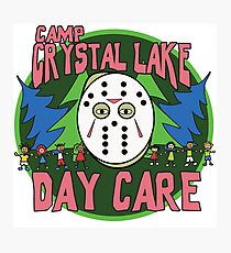 Camp Crystal Lake Daycare Photographic Print