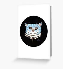 Cheshire Puss Greeting Card