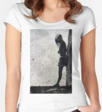Loneliness Women's Fitted Scoop T-Shirt
