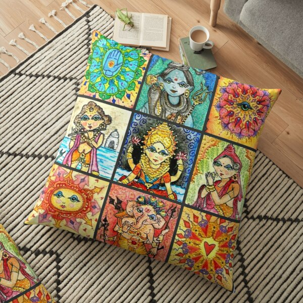 Namaste Blox  Floor Pillow