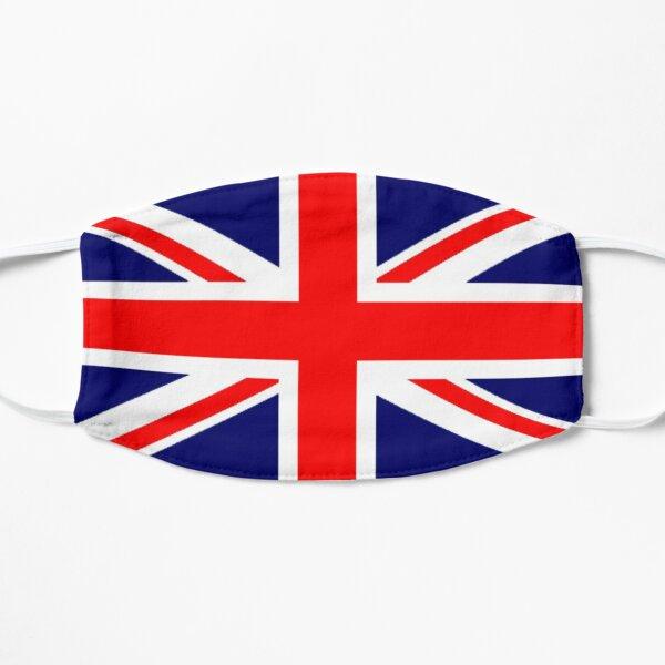 British. War Flag. Union Jack Flag. 3:5 UK, GB, Britain, United Kingdom, Army, Pure & Simple. Flat Mask