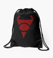 Invader Zim Irken Symbol - Stand Tall and Conquer All Drawstring Bag
