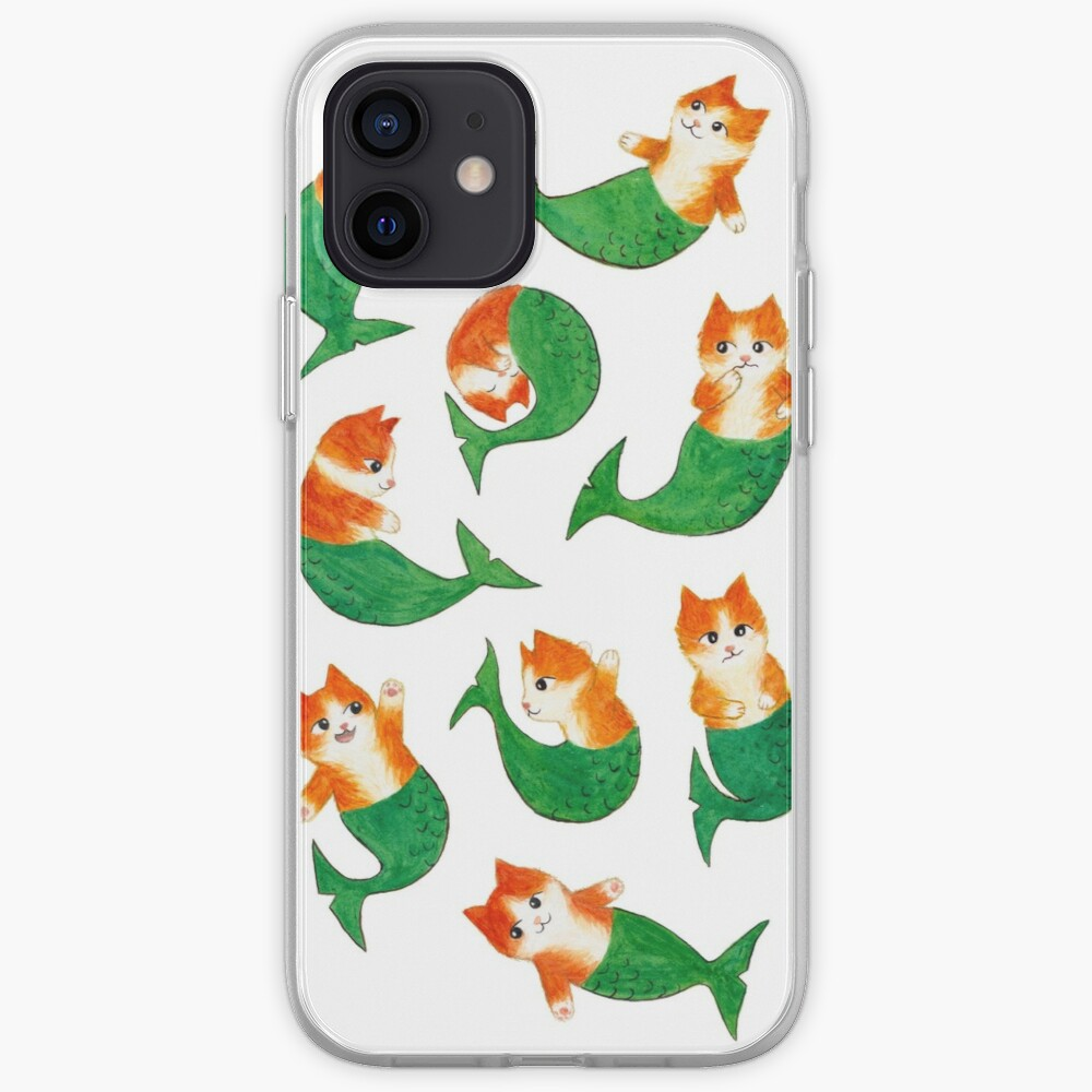 Mermeows Mercats Madness - Some Cute Mermaid Cats iPhone Case & Cover
