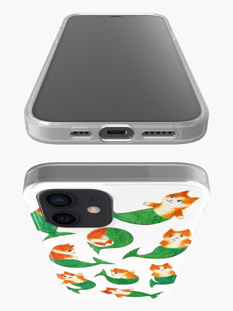 Alternate view of Mermeows Mercats Madness - Some Cute Mermaid Cats iPhone Case & Cover