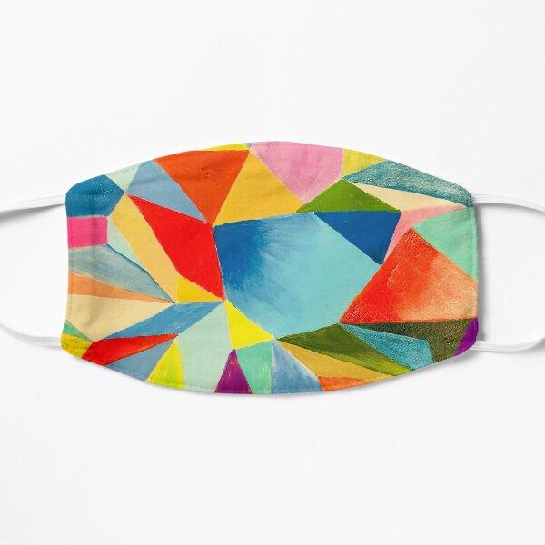 Mosaic wall art abstract Flat Mask