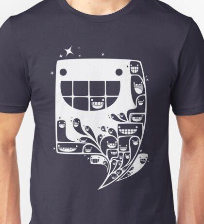 Happy Inside - 1-Bit Oddity - White Version T-Shirt