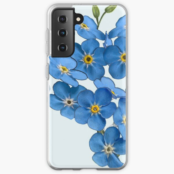 Forget Me Not - little flower of love Samsung Galaxy Soft Case