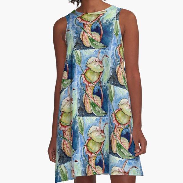 Pitcher Plant Soloist A-Line Dress