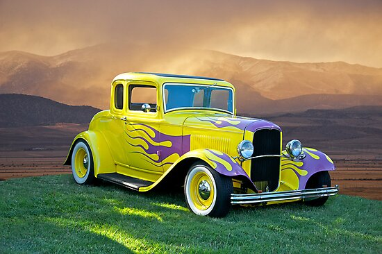 1931 Ford 5 Window Coupe by DaveKoontz