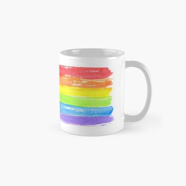 LGBT parade flag, gay pride symbol Classic Mug