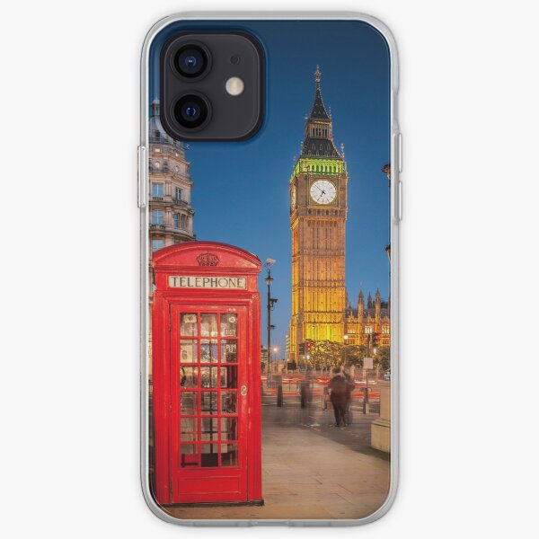 London Icons iPhone Soft Case