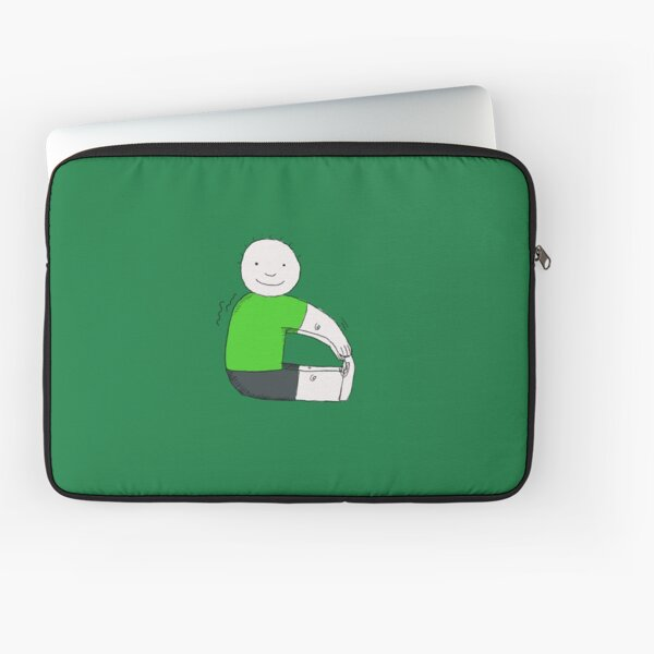Desperately Trying to Touch My Toes Laptop Sleeve