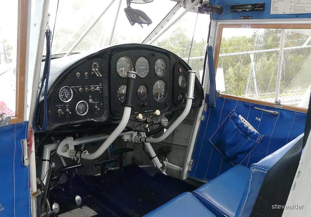 Analogue Cockpit by stevealder