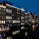 Amsterdam by night by Colin White