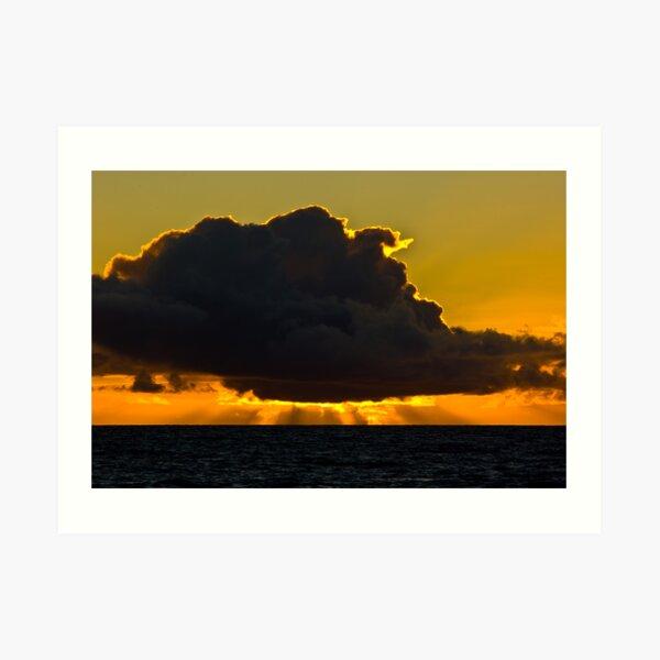 Sunset at Squeaky Beach, Wilsons Prom Art Print
