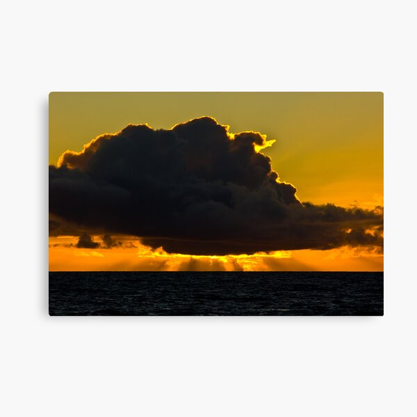 Sunset at Squeaky Beach, Wilsons Prom Canvas Print