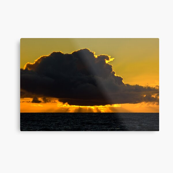Sunset at Squeaky Beach, Wilsons Prom Metal Print