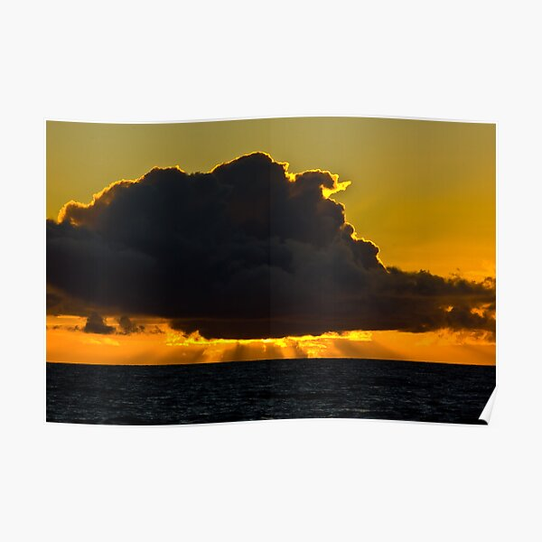 Sunset at Squeaky Beach, Wilsons Prom Poster