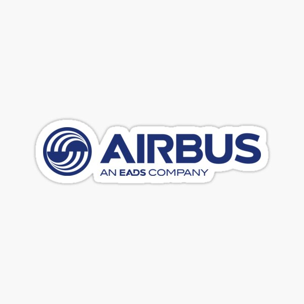Airbus  aviation campany planes Sticker