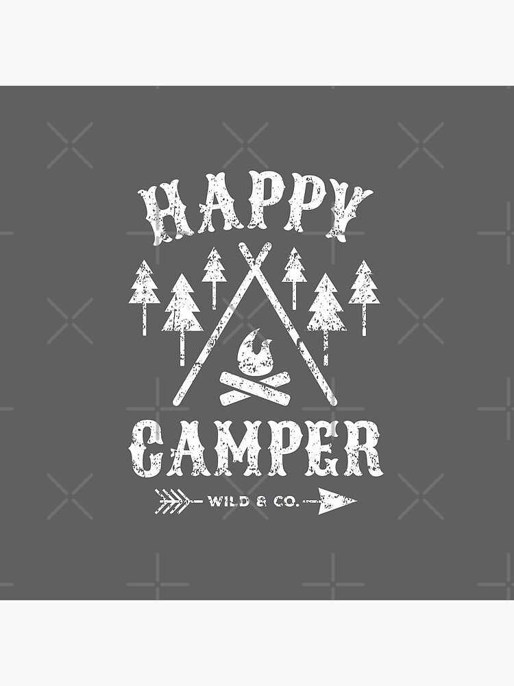 Happy Camper distressed white by posay