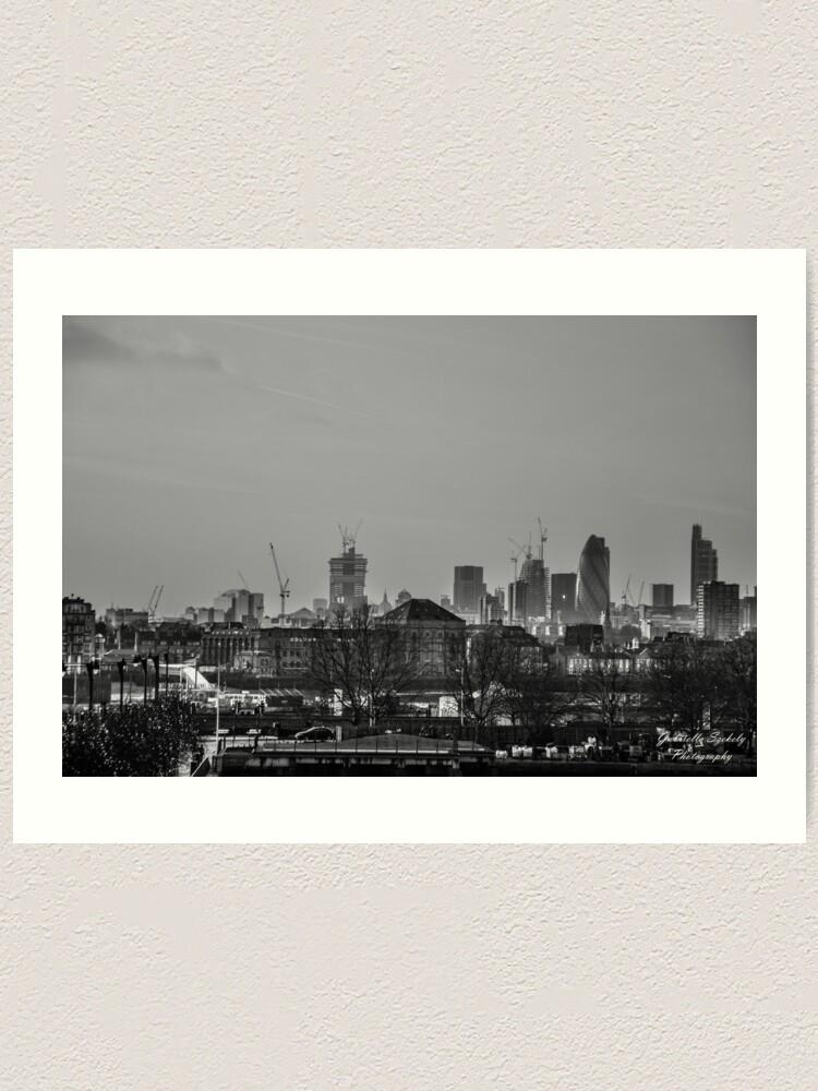 Alternate view of City at dusk Art Print