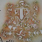 Lord Ganesh with Names by spro123