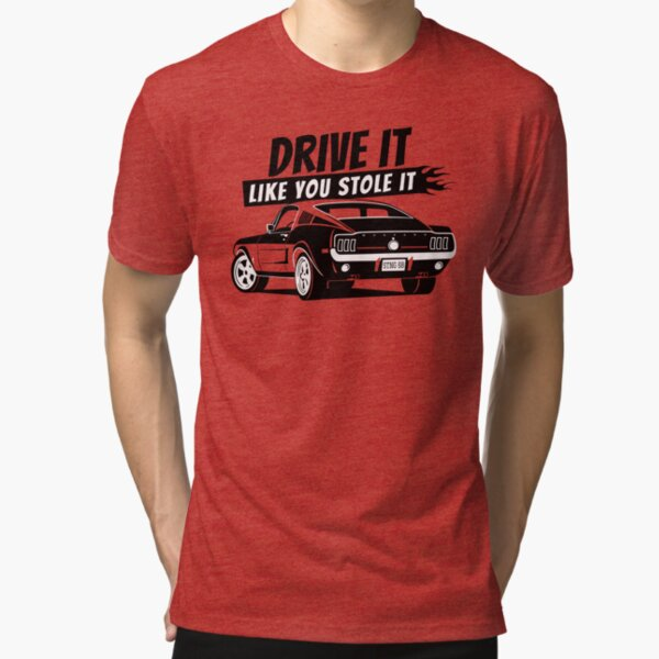 if you love the 68 fastback Tri-blend T-Shirt
