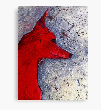 Red Dog  Canvas Print