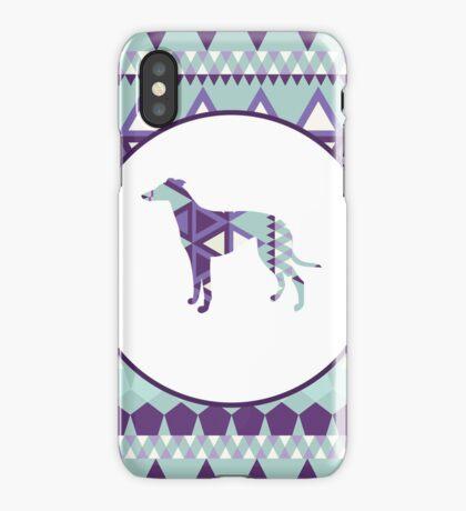 Greyhound Geometri iPhone Case/Skin