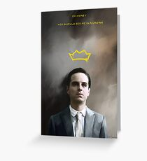 Moriarty portrait Greeting Card