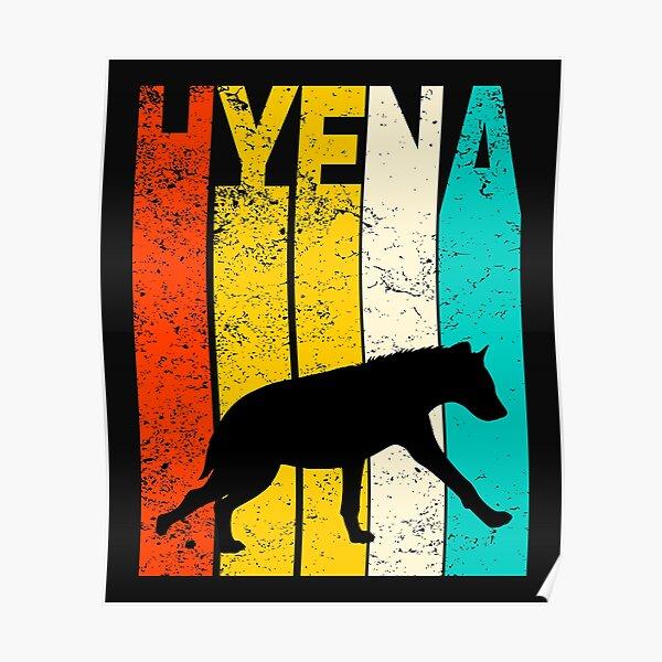 Hyena Posters Redbubble