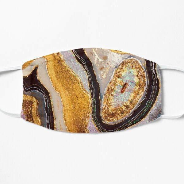 Golden geode Flat Mask