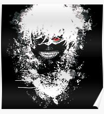 Tokyo Ghoul - The Eyepatch Ghoul (Black Version) Poster