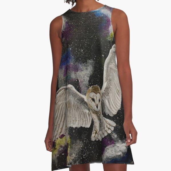 Labyrinth  A-Line Dress