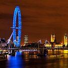 London Skyline by Colin White