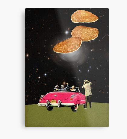 Unidentified flying object Metal Print
